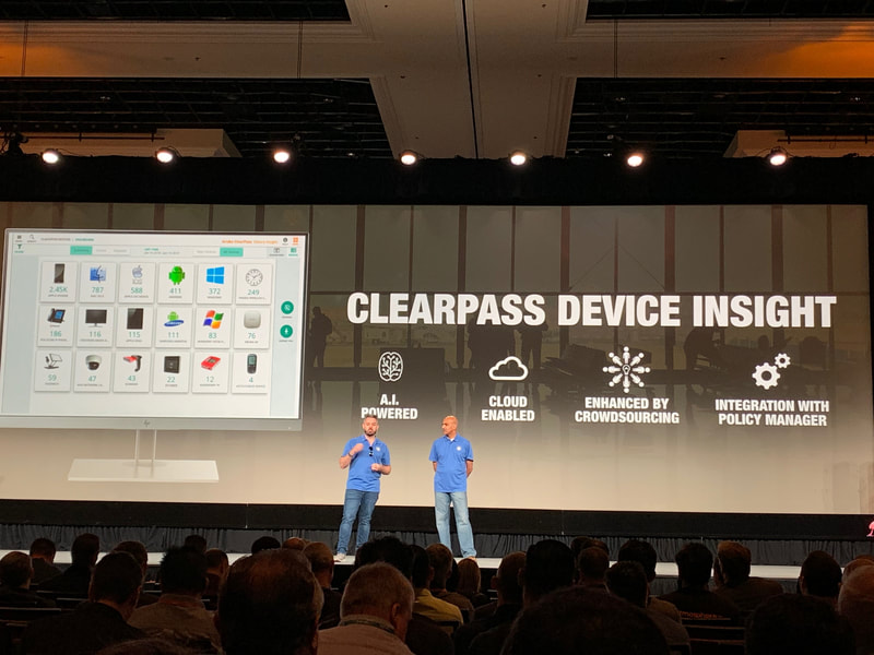 Aruba Networks new Clearpass Device Insight service intended for IoT discovery