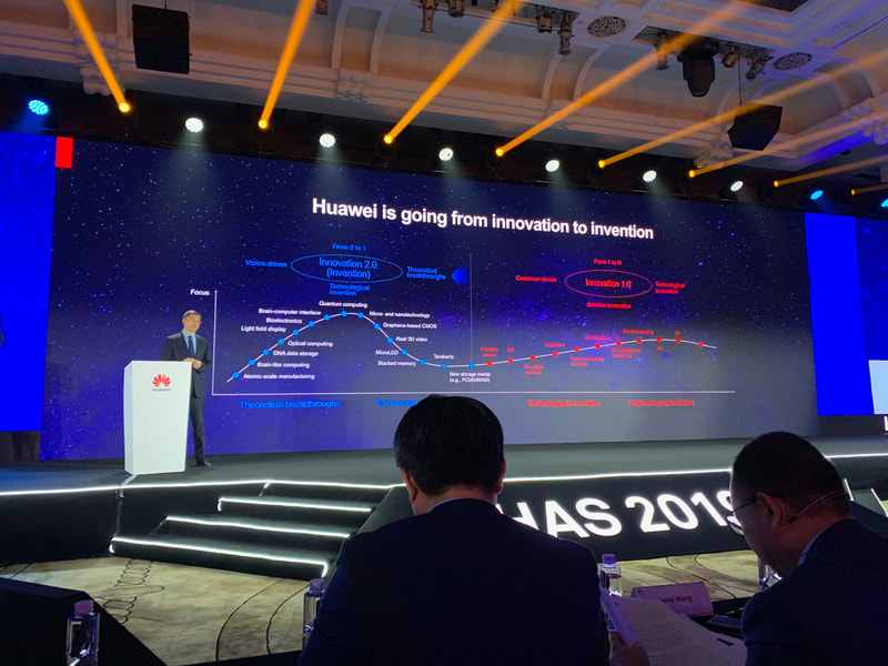 Huawei Innovation 2.0 presentation slide at HAS2019