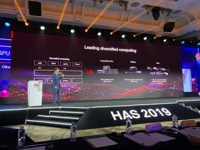 Huawei ARM server TaiShan presented at HAS2019